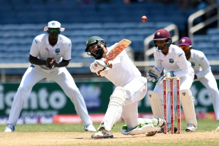 Chase century lifts Windies out of trouble against Pakistan