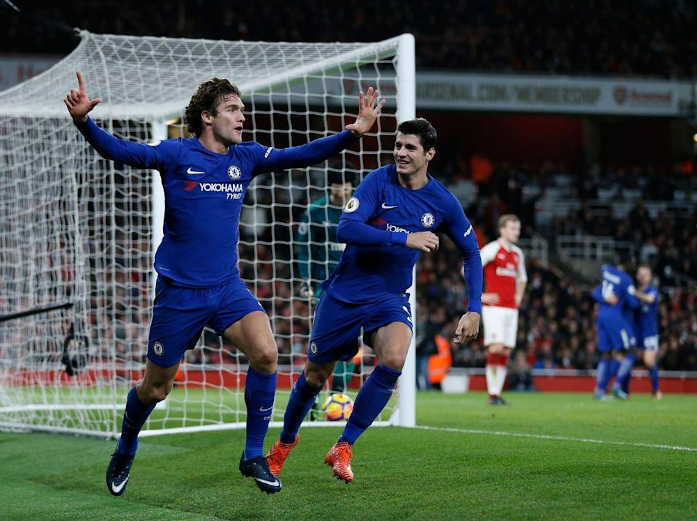 Marcos Alonso thought he had won the game (Getty)