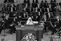 <p>Widely considered to be one of the greatest humanitarians to ever live, Mother Teresa was award the Nobel Peace Prize on October 17, 1979 for her work with the poor and disenfranchised. She would go on to be canonized by Pope Francis in 2016.</p>
