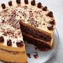 """<p>We love, love, love coffee cake. Coffee gives such a great richness to sponge, and this espresso martini cake is no exception. I mean, adding Kahlua to a sponge mixture, what more could you want? </p><p>Get the <a href=""""https://www.delish.com/uk/cooking/recipes/a29571751/espresso-martini-cake/"""" rel=""""nofollow noopener"""" target=""""_blank"""" data-ylk=""""slk:Espresso Martini Cake"""" class=""""link rapid-noclick-resp"""">Espresso Martini Cake </a>recipe.</p>"""
