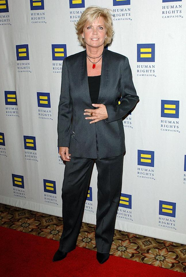 "In the '80s, she was popular TV mom Elyse Keaton on ""Family Ties,"" but in 2009 actress Meredith Baxter, now 63, disclosed she'd had a later-in-life realization she's a lesbian. ""I feel like I'm being honest for the first time,"" she said. Craig Barritt/<a href=""http://www.wireimage.com"" target=""new"">WireImage.com</a> - March 13, 2010"