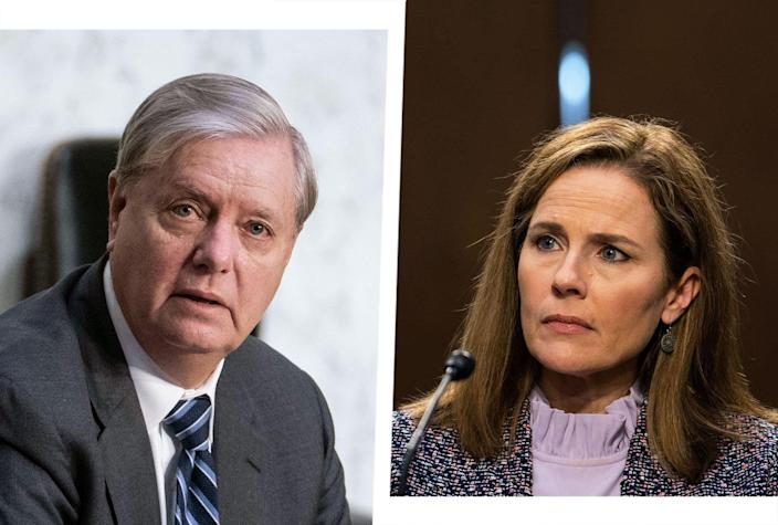Lindsey Graham; Amy Coney Barrett