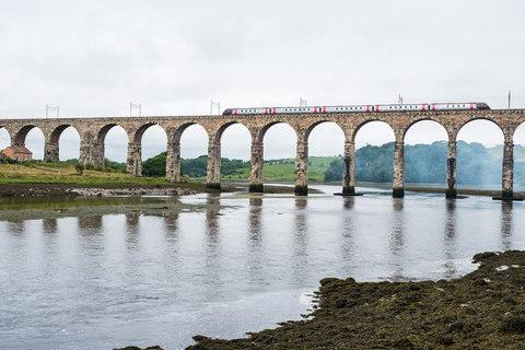 The railway bridge that greets visitors - Credit: STUART NICOL PHOTOGRAPHY/Stuart Nicol