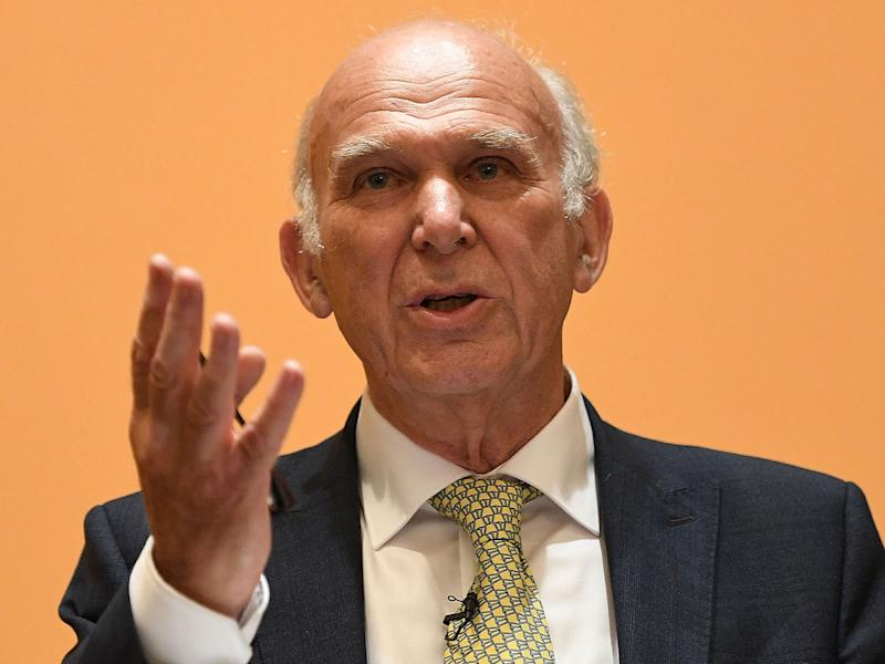 With barely a dozen MPs and a poll rating that remains stubbornly in single figures, and only one truly national figure still in the Commons, leader Sir Vince Cable, this guerrilla force struggles to make an impact: Getty