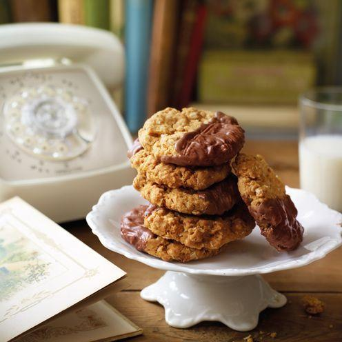 """<p>These oaty treats are set to become a tea-time favourite.<br><br><strong>Recipe:</strong> <a href=""""https://www.goodhousekeeping.com/uk/food/recipes/chocolate-oaties-biscuits?click=main_sr"""" rel=""""nofollow noopener"""" target=""""_blank"""" data-ylk=""""slk:Chocolate oaties"""" class=""""link rapid-noclick-resp"""">Chocolate oaties</a><br> </p>"""