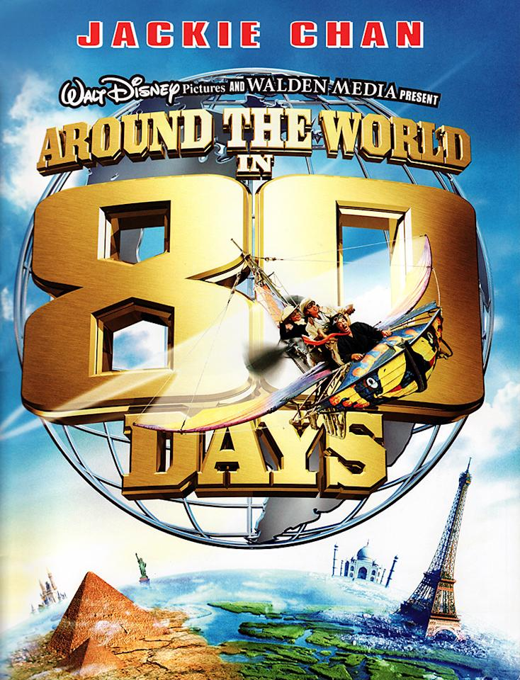 "<a href=""http://movies.yahoo.com/movie/around-the-world-in-80-days-2004/""><b>Around the World in 80 Days</b></a><br> Release date: June 16, 2004<br> Estimated budget: $110 million<br> U.S. gross: $24 million"