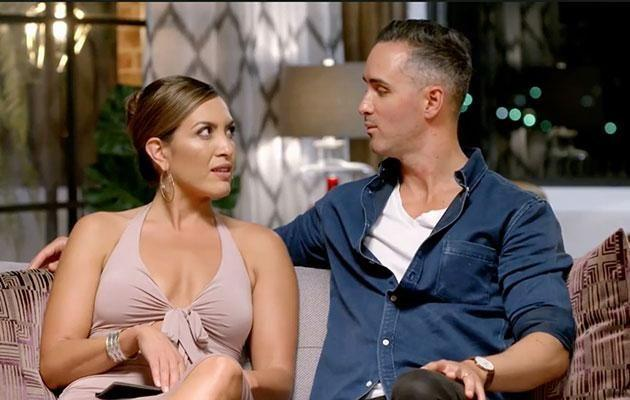 Anthony hasn't held back, calling his on-screen wife 'frigid' and making comments about the size of her breasts. Photo: www.9now.com.au