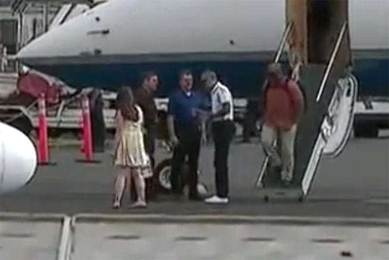 Michelle and Barack Obama Spotted at French Polynesian Resort