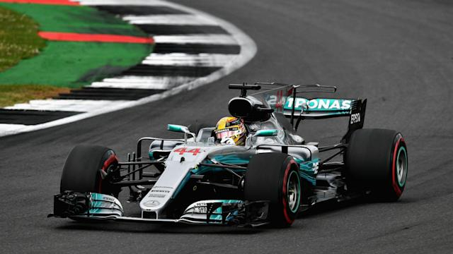 Mercedes' Lewis Hamilton reigned supreme at the British Grand Prix once again, while a late puncture saw Sebastian Vettel finish seventh.