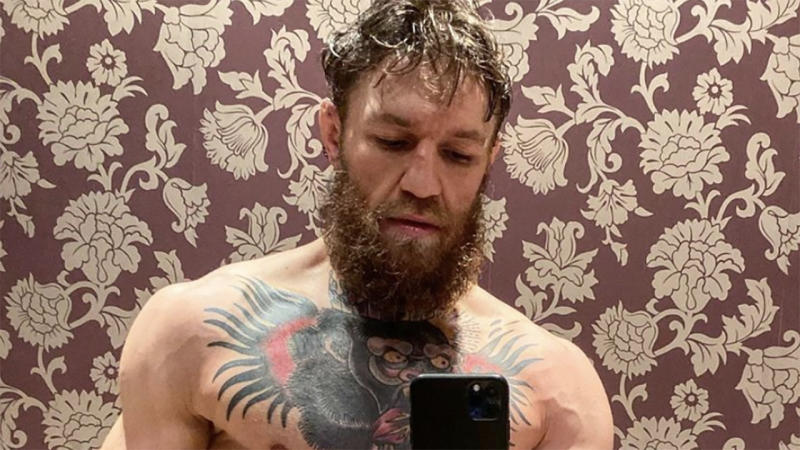 Conor McGregor sent fans into a frenzy with this photo. (Image: @thenotoriousmma)