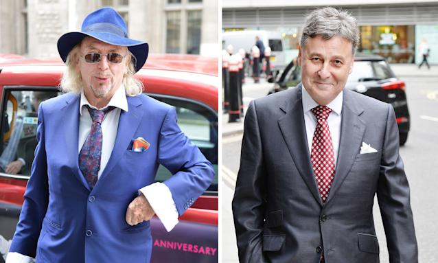 Blackpool's owner Owen Oyston (left) and Valeri Belokon, a Latvian banker whose investment was key to the club winning promotion to the Premier League in 2010.