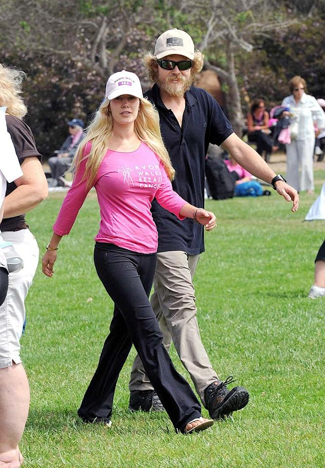 "Heidi Montag and her formerly estranged hubby Spencer Pratt were photographed together at the Avon Walk for Breast Cancer in Santa Barbara, California, on Sunday. The reality stars sure look a lot different from when they first appeared on ""The Hills""! <a href=""http://www. PacificCoastNews.com"" target=""new"">PacificCoastNews.com</a> - September 12, 2010"