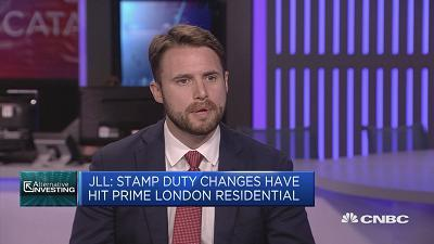 Adam Challis, head of residential research for EMEA at JLL, speaks about the property market in London's city center.