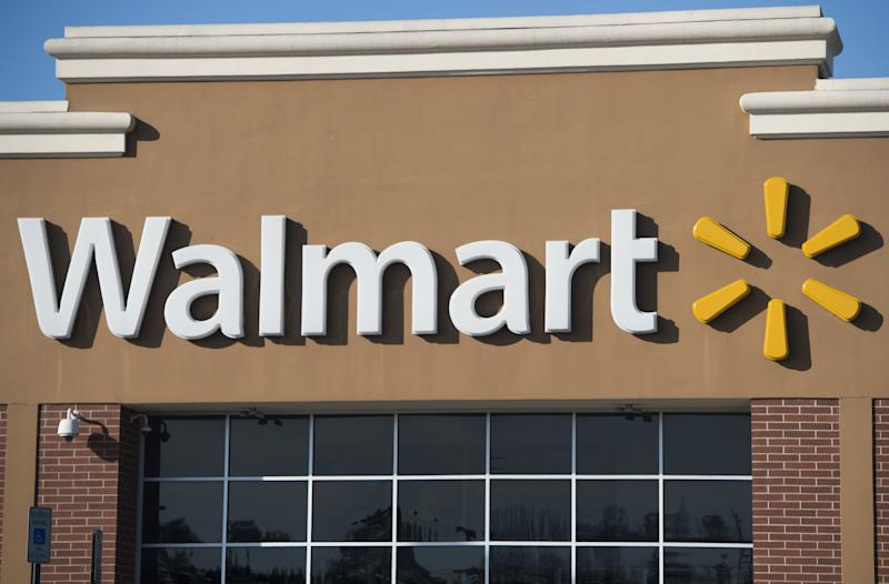 A Walmart store is seen in Landover, Maryland.