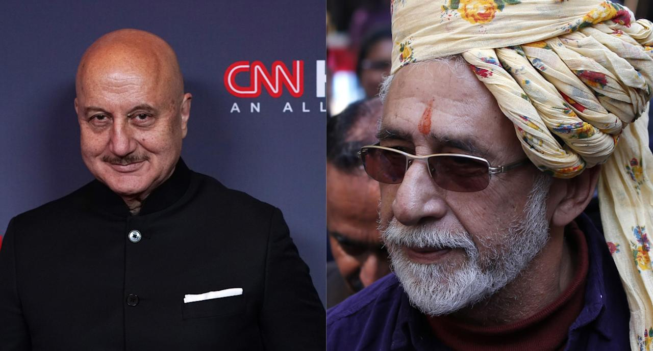 """""""Any number of his contemporaries from NSD (National School of Drama),FTII (Film and Television Institute of India) can attest to his sycophantic nature. It's in his blood. He can't help it."""""""