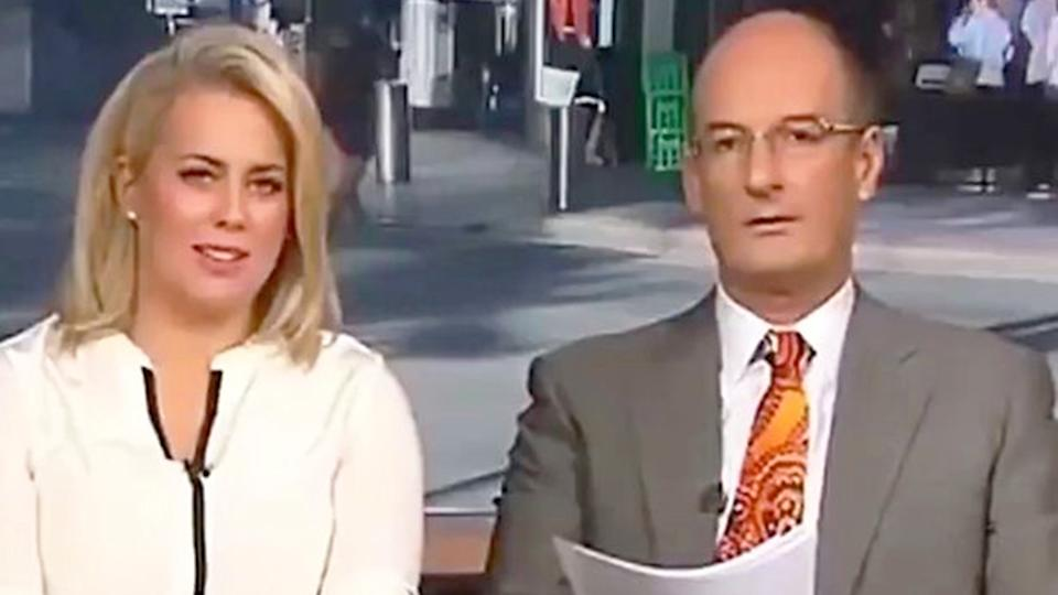 sam armytage on sunrise with david koch