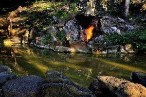 水火同源|Fire and Water Spring(Courtesy of Tainan Travel)
