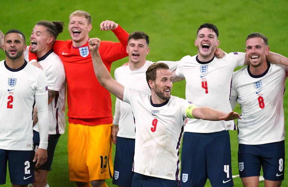 England players (PA Wire)