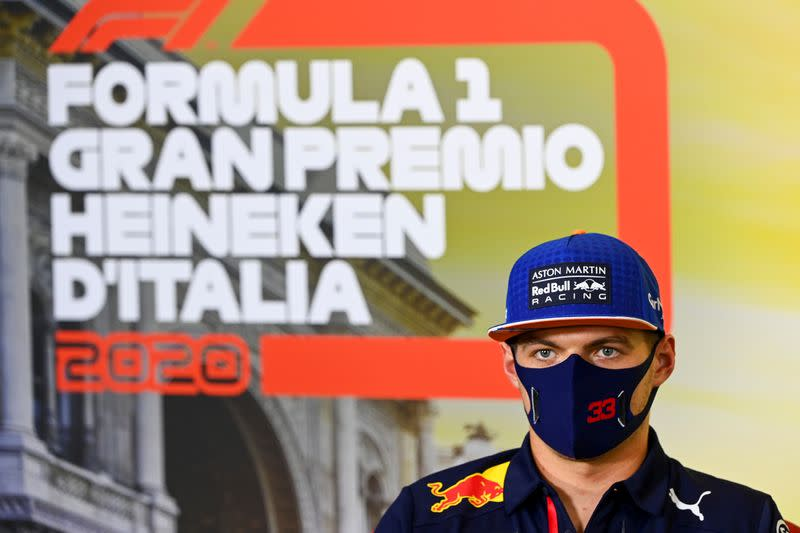 Verstappen crashes as Mercedes dominate first practice at Monza