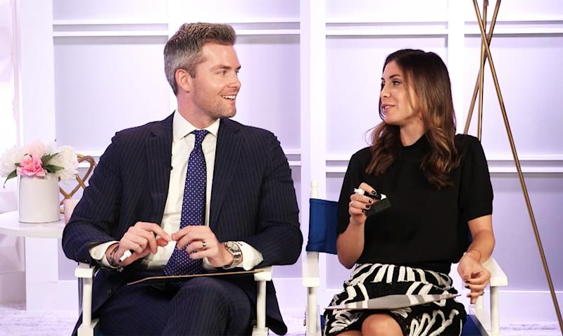 Million Dollar Listing New York's Ryan Serhant and his wife, Emilia Bechrakis, played the Newlywed Game with Us Weekly Video — watch!