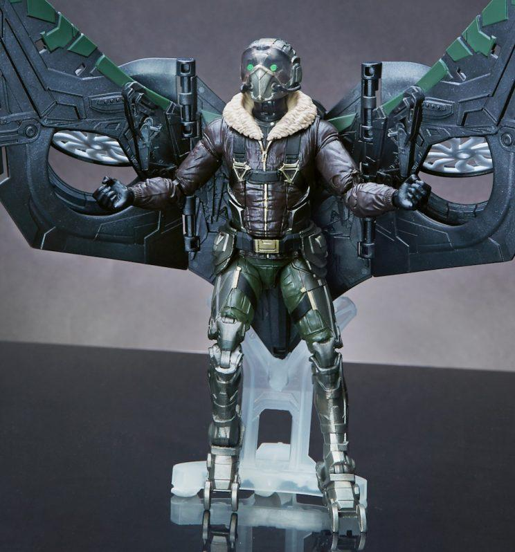 Close-up of Marvel Legends Vulture figure (Courtesy of Hasbro)