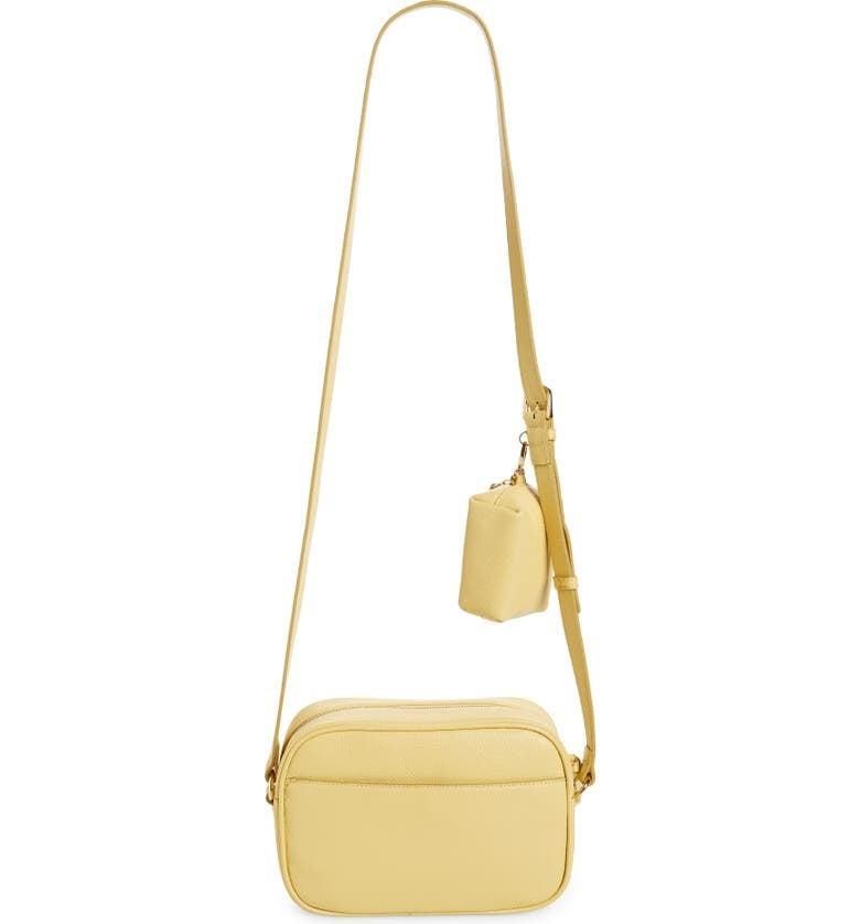 <p>This <span>Nordstrom Margo Crossbody Bag with Accessory Pouch</span> ($99) is perfect for every day.</p>
