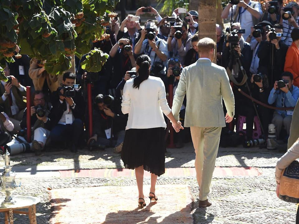 The Sussexs morocco
