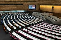 Thailand's parliament held a special session to discuss the ongoing pro-democracy protests