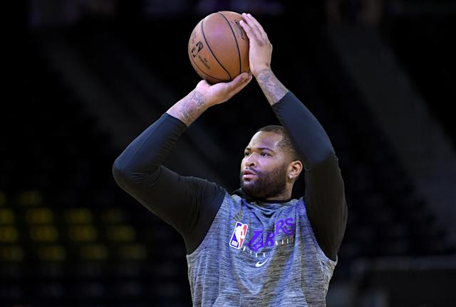Four-time All-Star DeMarcus Cousins tore his ACL in August. (Thearon W. Henderson/Getty Images)