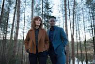 "<p>Harlan Coben's bestselling novel is getting a book-to-TV adaption in this British mystery series, which centers around main guy Adam Price, who must unravel the secrets and rumors surrounding his wife after a mystery man comes forward claiming she's a fraud.</p> <p><a href=""http://www.netflix.com/title/81001209"" class=""link rapid-noclick-resp"" rel=""nofollow noopener"" target=""_blank"" data-ylk=""slk:Watch The Stranger on Netflix."">Watch <strong>The Stranger</strong> on Netflix.</a></p>"