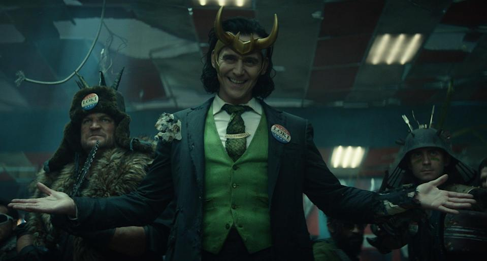And if you remember correctly, Loki dies very early on in the movie. Tom said,