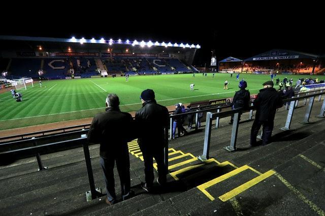 Carlisle intend to spread supporters across all areas of their ground for the visit of Southend