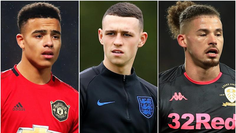 'Lovely moment' for Southgate as he calls up to Greenwood, Foden and Phillips