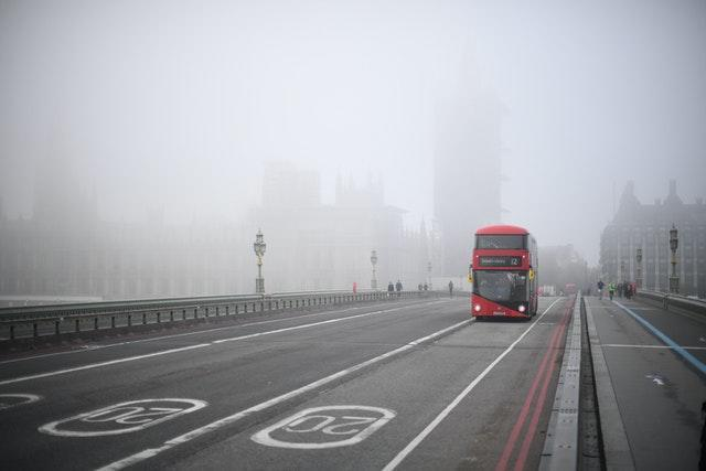 A view from Westminster Bridge in London