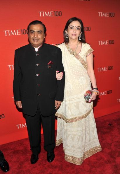 <p>He is married to Nita Ambani. Like Mukesh himself, Nita also hails from a middle-class background. Theirs was an arranged marriage. </p>