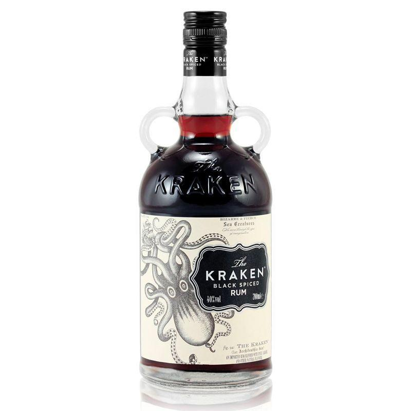 """<p><a class=""""link rapid-noclick-resp"""" href=""""https://go.skimresources.com?id=127X678080&xs=1&url=https%3A%2F%2Fwww.masterofmalt.com%2Frum%2Fkraken%2Fthe-kraken-black-spiced-rum%2F"""" rel=""""nofollow noopener"""" target=""""_blank"""" data-ylk=""""slk:SHOP"""">SHOP</a></p><p>The mythical Kraken sea monster is immortalised in this bottle, filled with their signature rich and smooth dark rum packed with hints of cinnamon, clove and vanilla. It's just as visually appealing as it is to taste.</p><p>£24, <a href=""""https://go.skimresources.com?id=127X678080&xs=1&url=https%3A%2F%2Fwww.masterofmalt.com%2Frum%2Fkraken%2Fthe-kraken-black-spiced-rum%2F"""" rel=""""nofollow noopener"""" target=""""_blank"""" data-ylk=""""slk:Master of Malt"""" class=""""link rapid-noclick-resp"""">Master of Malt</a> </p>"""