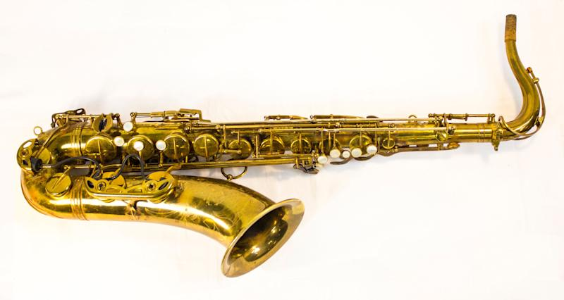 Clarence Clemons played this Selmer tenor saxophone during the recording of Bruce Springsteen's 1975 album <em>Born to Run</em>. The 2014 Rock and Roll Hall of Fame Inductee exhibit opens May 31, 2014 in Cleveland, Ohio.