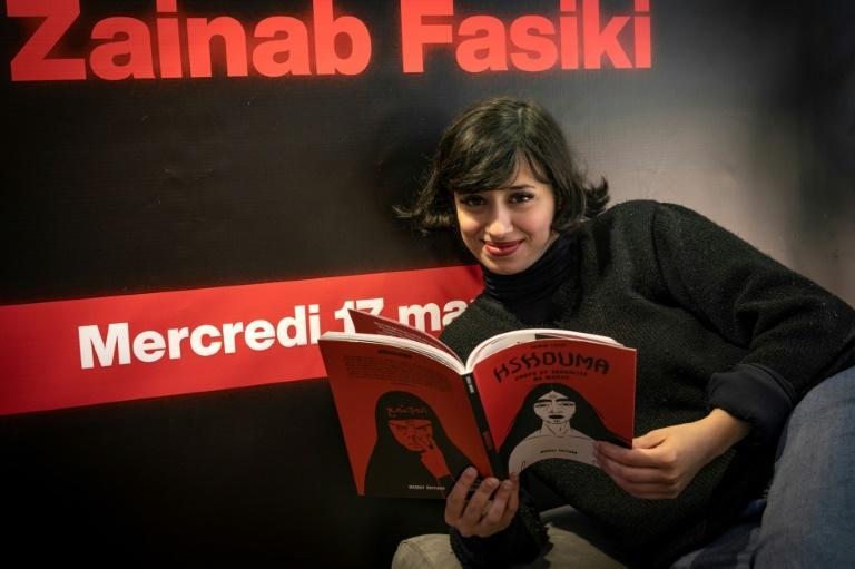 """Zainab Fasiki is a pioneer in comics and illustration in Morocco who calls herself an """"artivist"""" -- an artist and activist -- using comics for the #MeToo campaign"""