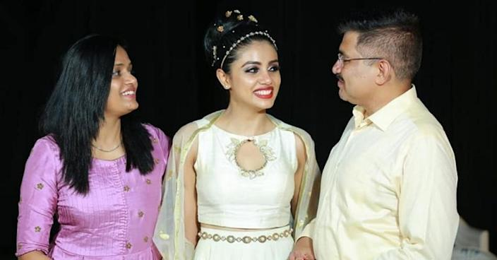 Erin John - the first medical student to be crowned Miss Kerala