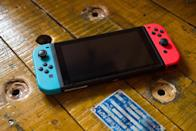 "<p>Nintendo is a risk-taker, and it took one of the biggest risks of its time within the industry with the Switch. The successor to the Wii U was a handheld-console hybrid with integrated, detachable controllers that fit on either side of the screen called Joy-Con. </p><p>This meant every system came with two Joy-Con, each with versions for the left and right sides. The left Joy-Con includes an analog stick on the top of the controller, four directional buttons, and a button that can snap screenshots. If detached and turned on its side, like the other side, it has two shoulder buttons. On the top right when held vertically, it has a ""minus"" button. </p><p>The right Joy-Con has a ""plus"" button on the top left, with four face buttons beside it: ""X, Y, A, and B"". Beneath that is an analog stick, and below that is the ""Home"" button to go back to the main menu. </p><p>Both Joy-Con controllers include the HD rumble feature which makes for some impressive effects. They can also be used as Wii remote-like controllers instead of acting as a part of the Switch's makeup. These aren't required for the Switch, but are needed for some games. You can alternatively use wired or wireless first and third-party controller options like the Pro Controller, which is a more traditional form factor.</p>"