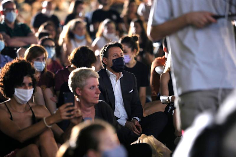 ROME, ITALY - JULY 03: Italian Prime Minister Giuseppe Conte attends the Summer Opening of Cinema America at Piazza San Cosimato on July 03, 2020 in Rome, Italy. (Photo by Ernesto Ruscio/Getty Images) (Photo: Ernesto Ruscio via Getty Images)