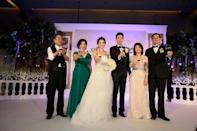The newly-weds and the in-laws
