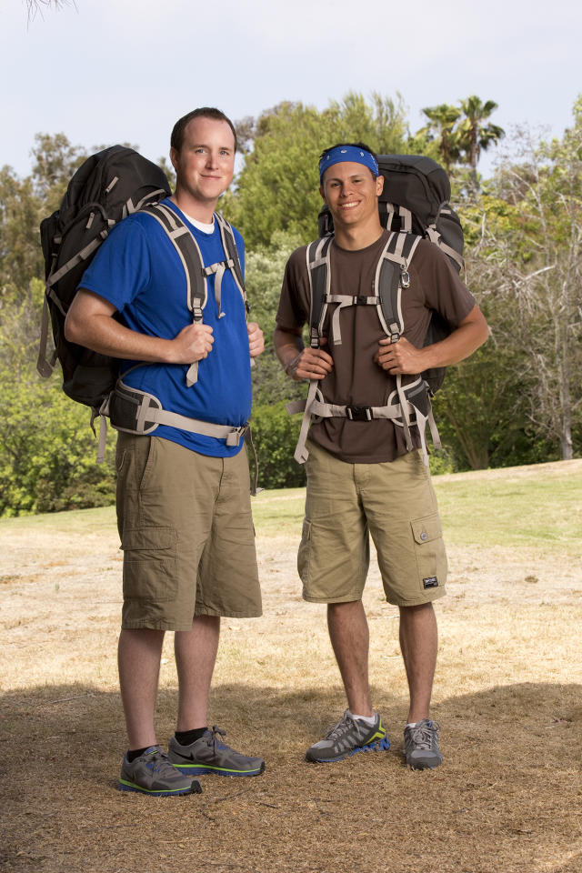 "Best Friends Tim Wiyninger and Danny Merkey compete in a sprint around the globe for $1 million dollars on the new season of ""The Amazing Race."""