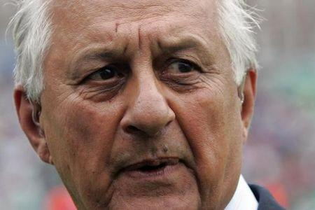 Pakistan Cricket Board Chairman Shaharyar Khan speaks against England at the Oval London