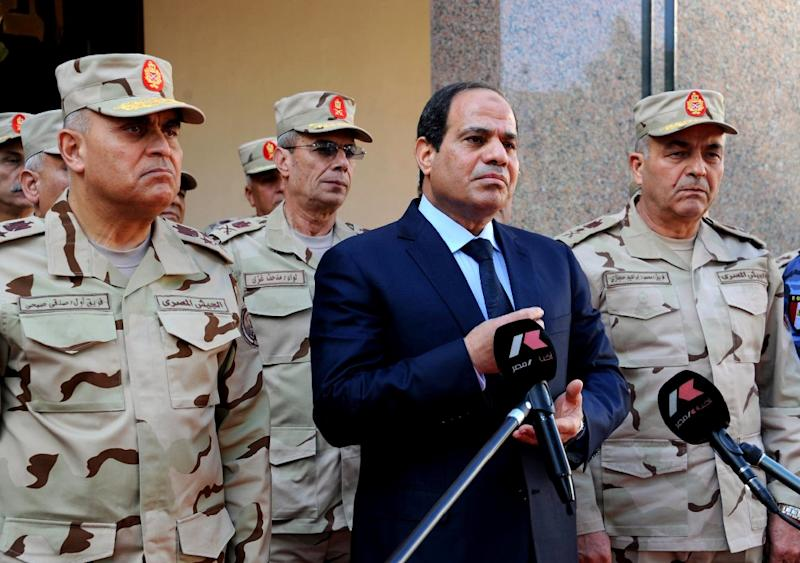 Egypt President Abdel Fattah al-Sisi says parliamentary polls will be held before the end of the year, despite earlier delays