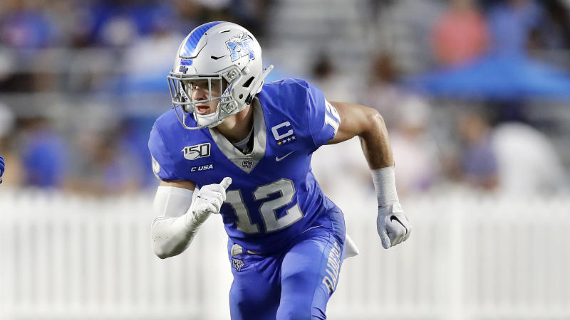 Middle Tennessee safety Reed Blankenship is an underrated playmaker who could break out with a full, healthy season. (AP Photo/Mark Humphrey)