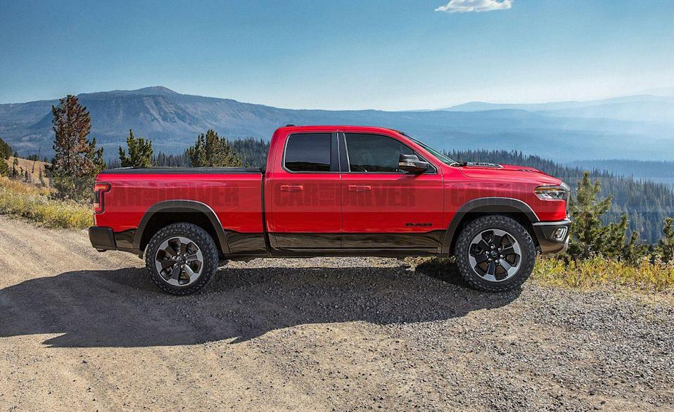 "<p>Ram pickups have a strong following, with over 563,000 sold in 2020. It only makes sense that Stellantis would build a smaller version of its popular Ram 1500 to eat up some of the Chevy Colorado, Ford Ranger, and Honda Ridgeline real estate. It's possible the <a href=""https://www.caranddriver.com/ram/dakota"" rel=""nofollow noopener"" target=""_blank"" data-ylk=""slk:Ram Dakota"" class=""link rapid-noclick-resp"">Ram Dakota</a> that was killed in the mid-2000s would make a return as either a more civilized-looking Jeep Gladiator, or built on a totally new mid-size pickup chassis. We doubt the next Dakota would offer a V-8, but considering the company makes <a href=""https://www.caranddriver.com/ram/1500-trx"" rel=""nofollow noopener"" target=""_blank"" data-ylk=""slk:a 702-hp pickup"" class=""link rapid-noclick-resp"">a 702-hp pickup</a>, anything's possible, even if the chance is exceedingly low. </p>"