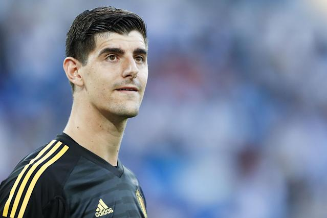 Courtois is strongly rumoured to want to move to Madrid to be closer to his family