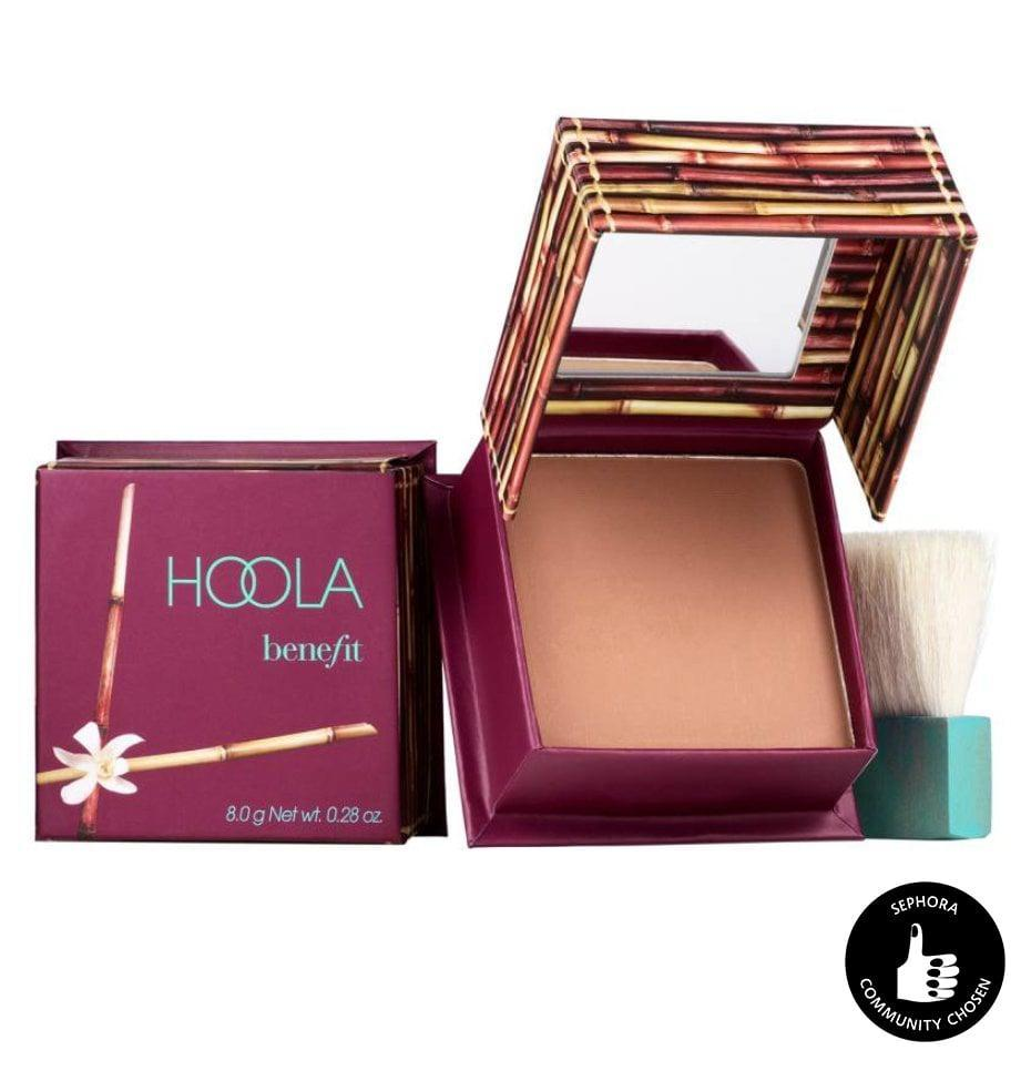 <p>Give your face a year-round tan with this <span>Benefit Cosmetics Hoola Matte Bronzing Powder</span> ($15). It comes with a natural-bristle brush that leaves the perfect amount of color without looking too shiny.</p>