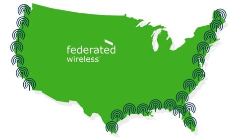 Federated Wireless Turns Up Industry's First Shared Spectrum Network to Bring New Wireless Bandwidth Options to Service Providers and Enterprises